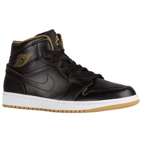$89.99 #nikeshoes #nikeairmax #nikeairmax #nikesport #nike #niketown #nikeblog #nikerunclub #niketalk  jordan gold shoes,Jordan AJ1 Mid - Mens - Basketball - Shoes - Black/Metallic Gold/White-sku:54724042 http://jordanshoescheap4sale.com/732-jordan-gold-shoes-Jordan-AJ1-Mid-Mens-Basketball-Shoes-Black-Metallic-Gold-White-sku-54724042.html