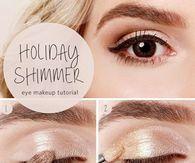 Holiday Shimmer Eye Makeup Tutorial