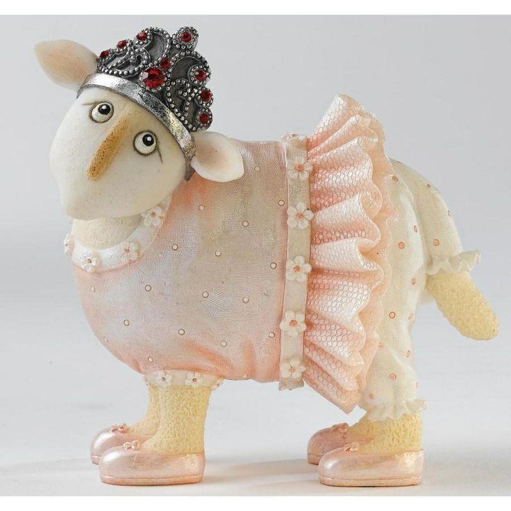 Princess Figurines | Ewe & Me Gift Figurine - Princess | Ewe & Me Figurines | Crusader ...