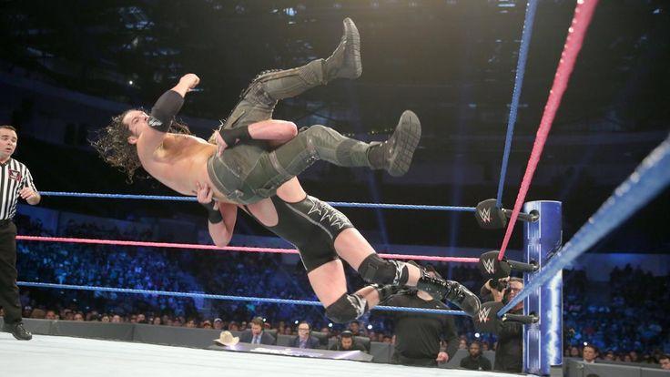 Jack Swagger vs. Baron Corbin