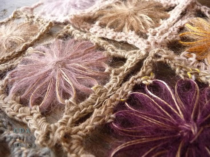Flowers of loom
