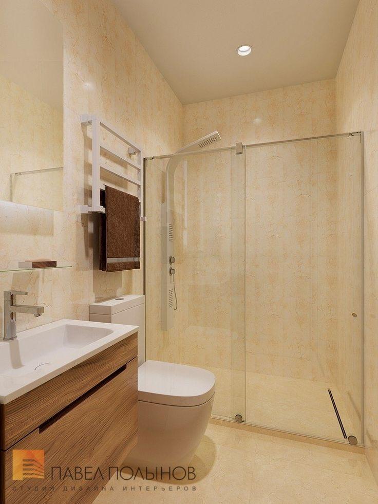 Фото: Душевая комната - Интерьер квартиры в современном стиле, ЖК «Дом у березового сада», 168 кв.м.