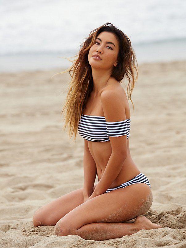 Girl stripped bikini #4