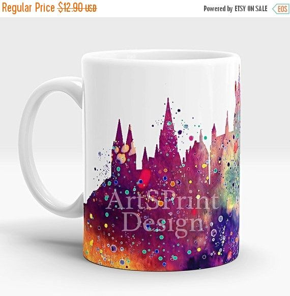 20 % Rabatt auf Harry Potter Hogwarts Schloss Becher von ArtsPrint