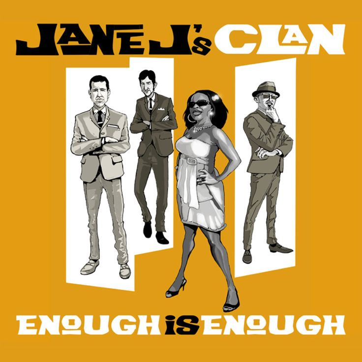 "Jane J's Clan ""Enough is enough"" - www.facebook.com/JaneJsClan"