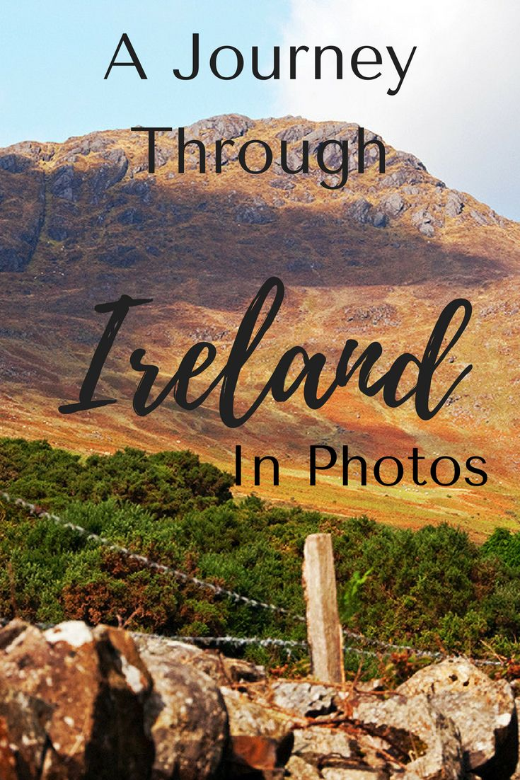 Ireland is truly one of the most beautiful countries you'll ever visit. Click through and go on a journey through Ireland as you view some of my favorite images! #ireland #travel #irelandtravel #wanderyourway #authentictravel #adventuretravel #europetravel #traveldestinations