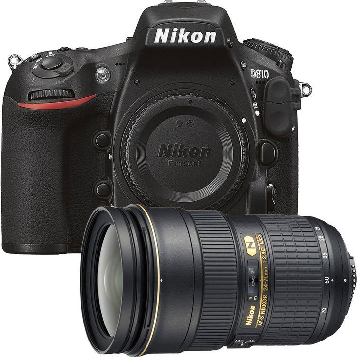 Nikon - 36.3 Megapixel Digital SLR Camera with AF-S Nikkor 24-70mm f/2.8G ED Standard Zoom Lens