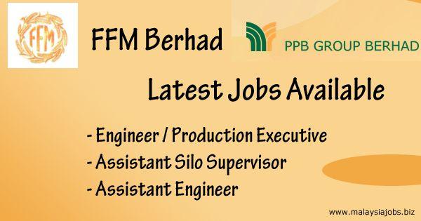 Jobs @ FFM Berhad Port Klang Selangor