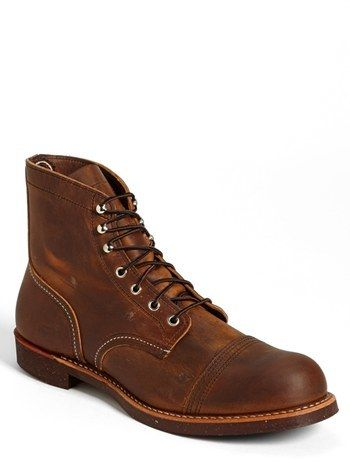 Red Wing 'Iron Ranger' Cap Toe Boot (Online Only)
