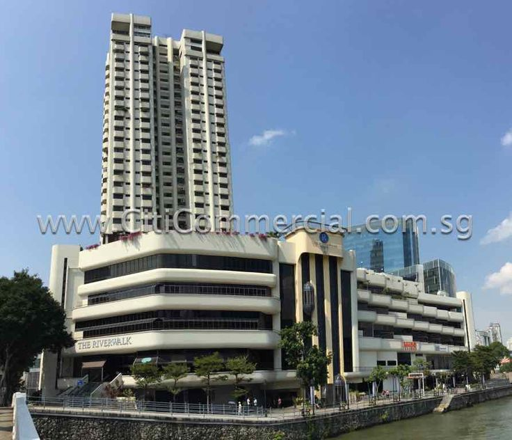 The Riverwalk is a joint development with Riverwalk apartments. It is a 5-storey commercial building for office and retail use. It was built in 1997.