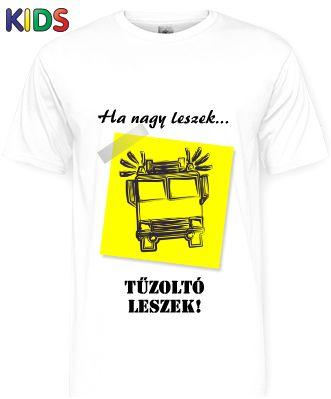 Ősztől rendelhető a MosolyGyár Győrnél! #tűzoltóautó #gyerekpóló