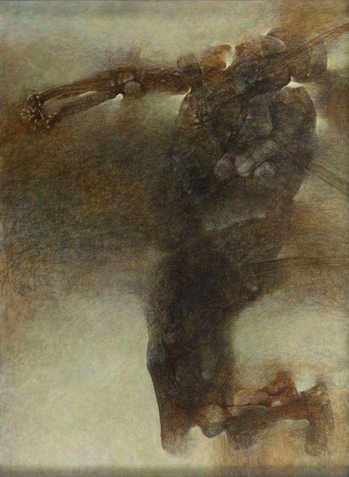 Zdzisław Beksiński - H2, 1996