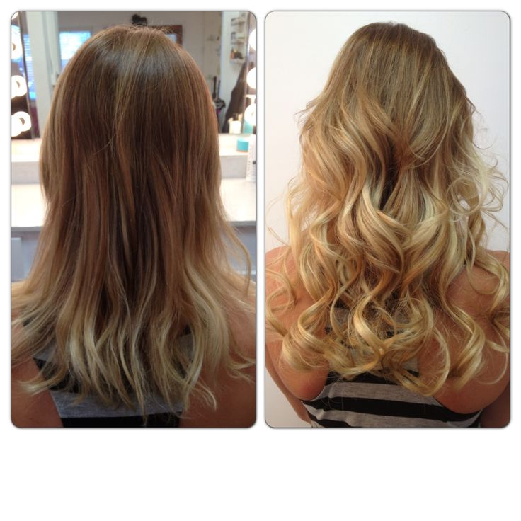 Before And After Hair Extensions Www