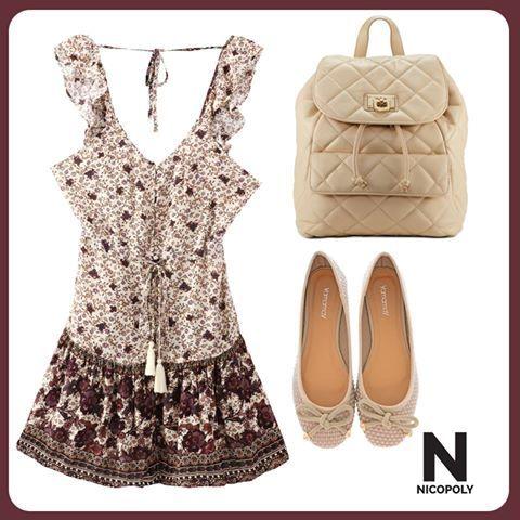 Visualiza tus vacaciones con este vestido Nicopoly