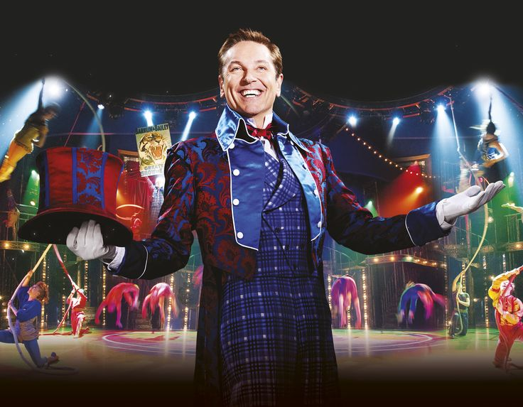 Brian Conley as 'The Greatest Showman On Earth'
