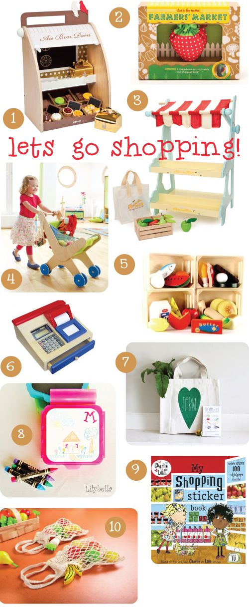 To Market, To Market: KidStyleFile's 'Let's Go Shopping' Round Up: Kidstylefile S, Gift Ideas, Pretend Store, Bella Cova, Cova Beautiful, Kidstylefile Roundup, Written By Jen