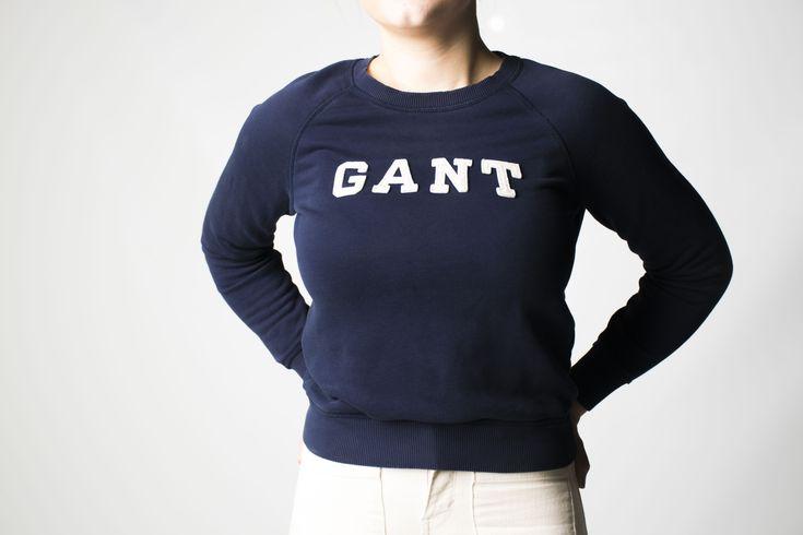 Gant #gant #product #advertising #blue #seatshirt #shirt #girl #model #vilmamoquist