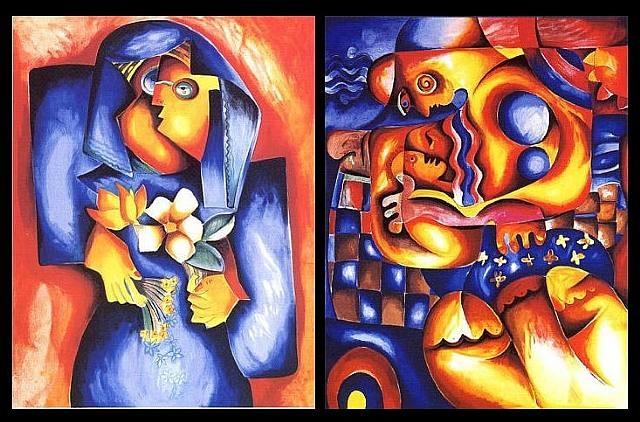 Romanian #Art - Alexandra Nechita http://www.romania-insider.com/wp-content/uploads/2010/09/alexandra-nechita-painting.jpg