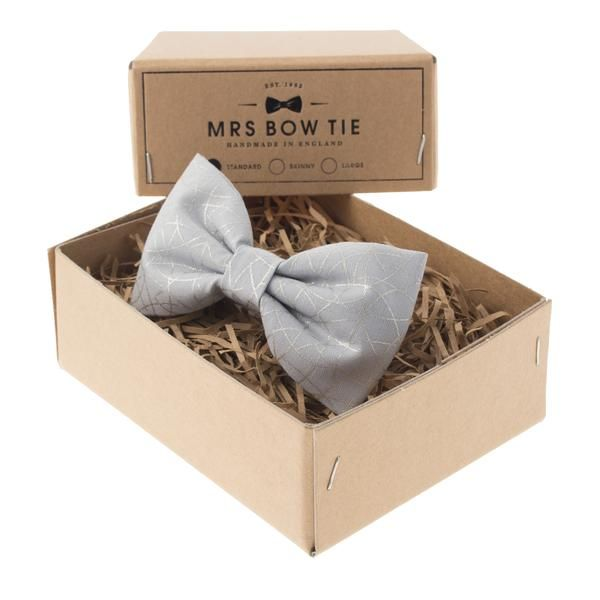 Arches in Silver by Mrs Bow Tie