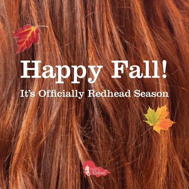 Happy Fall | How to be a Redhead