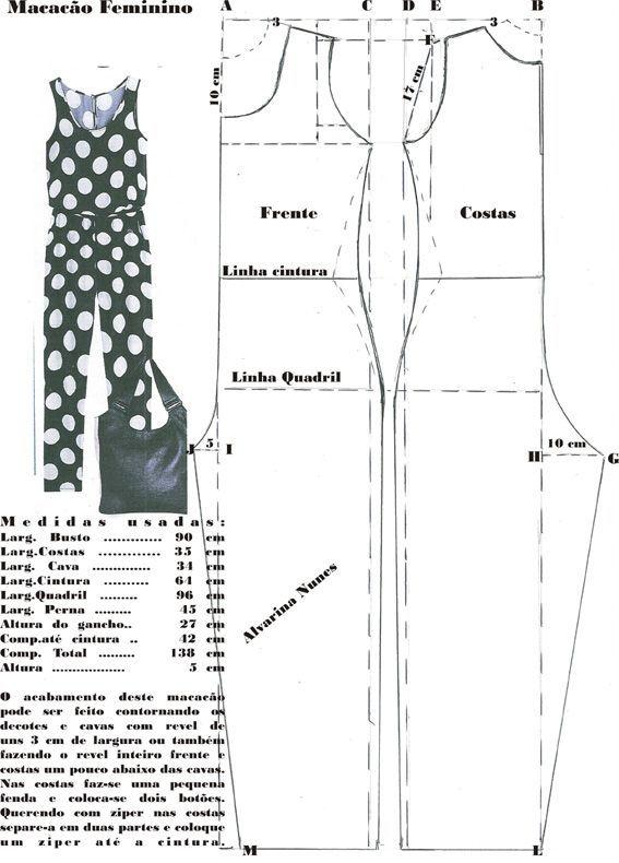 Jumpsuit - Costura e Modelagem
