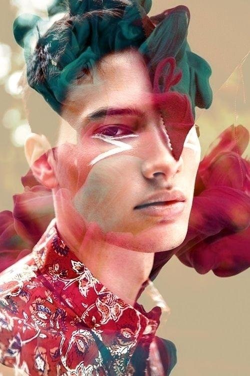 Torben Madlenscha by @lisapardey // Styling by Jakob Schaefer #torbenmadlenscha #aquamarinemgmt #malemodel #newface #germanboy #digital #collage #flowers #hippie #bloomsbury #lisapardey #jakobschaefer #modelmanagement #models #modelsonello @ellofashion @ellophotography