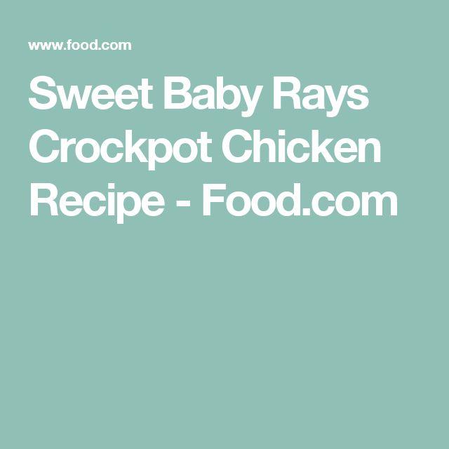 Sweet Baby Rays Crockpot Chicken Recipe - Food.com