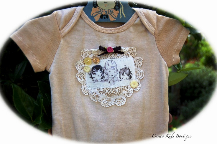 Altered Couture IdeasCouture Ideas, Kids Style, Crafts Ideas,  T-Shirt, Kids Boutiques, Future Kids, Altered Boutiques, Vintage Girls, Vintage Style