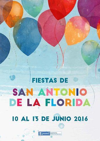 Programa Fiestas San Antonio de la Florida 2016 - Ayuntamiento de Madrid