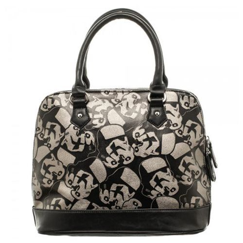 Star Wars Stormtrooper Dome Satchel with Metal Charm - Bioworld - Star Wars - Bags at Entertainment Earth