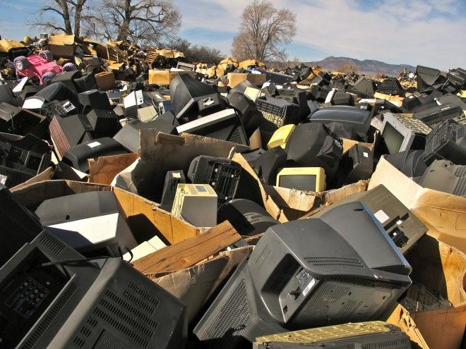What's happening to all our old TVs?