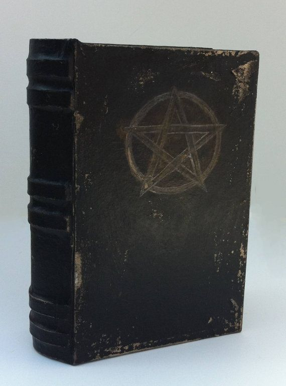 Weathered Book of Shadows Paper Box The Pentacle by Earthsenergies, $20.00