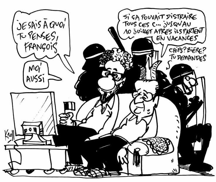 Kroll Pierre (2016-06-11) Euro 2016....  Et gouvernement Hollande!