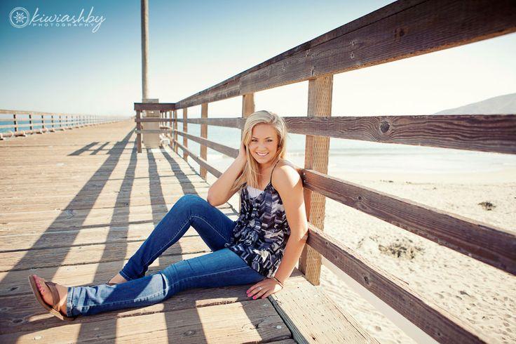 Beach senior portraits                                                       …