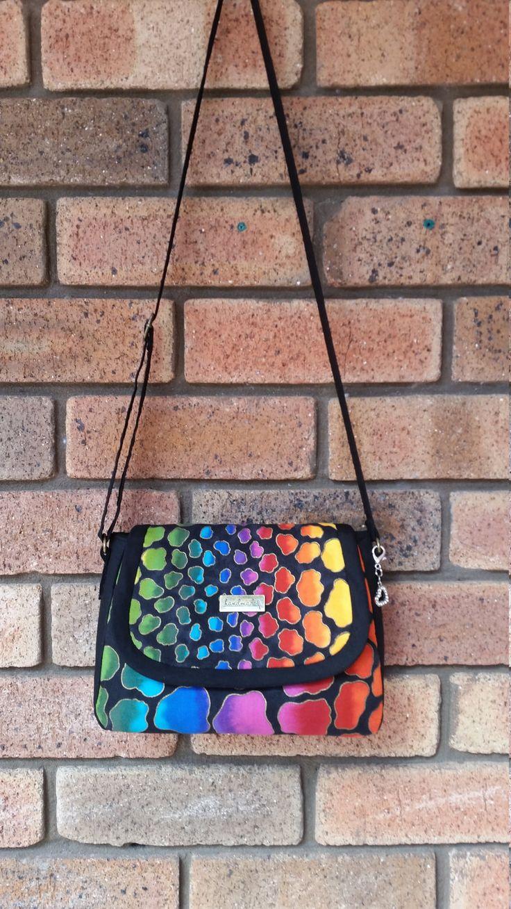 Handmade handbag, shoulder bag, laurel burch, animal print bag by RazberriCreations on Etsy