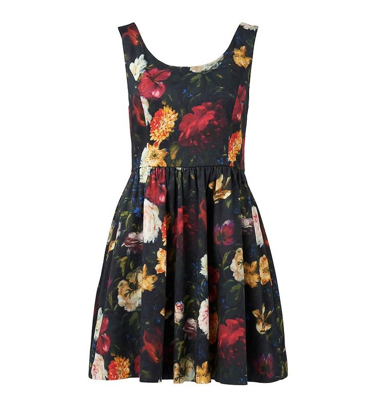 Honey gathered skirt dress - Forever New
