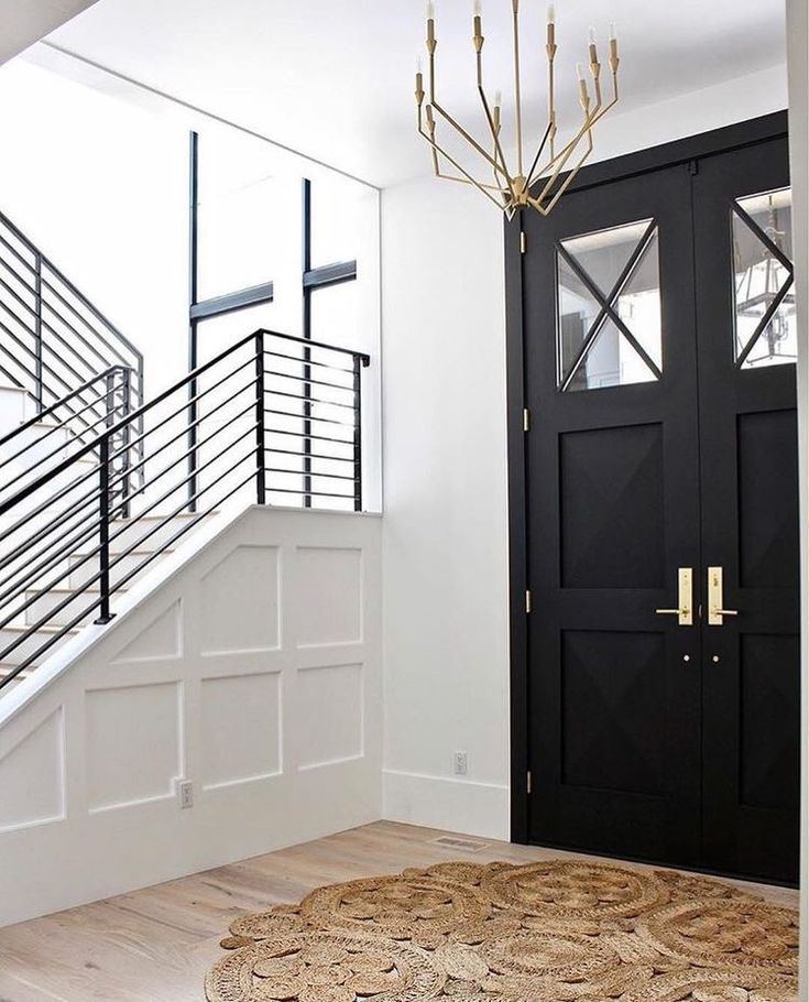 Entry Entrydesign Blackdoor Entry Book In 2019 House Front Door Door Entryway New Home Designs