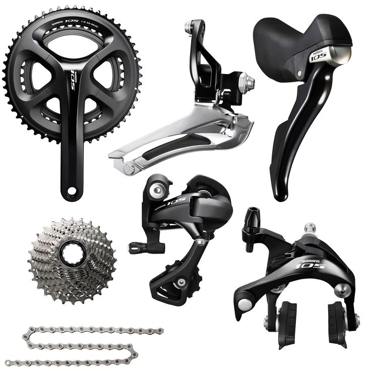Wiggle | Shimano 105 5800 Groupset | Groupsets & Build-kits