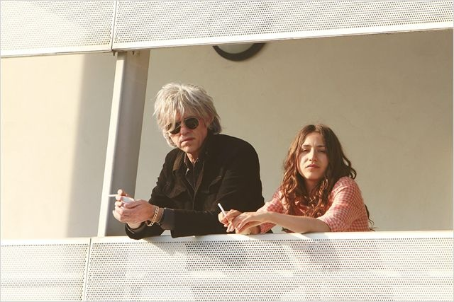 Mauvaise fille : photo Bob Geldof, Izia Higelin