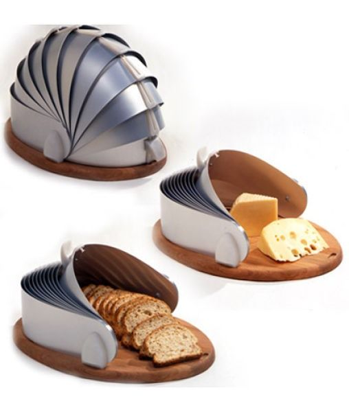"""Taking the phrase """"as easy as sliced bread"""" to a whole new level. #innovative #ideas"""