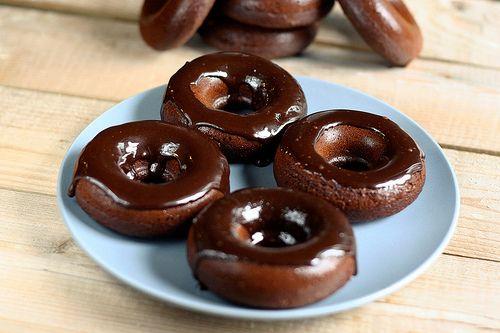 Gluten-Free + Diary-Free Chocolate Donuts