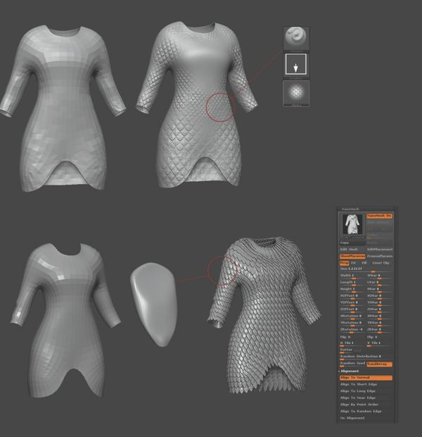 ZBrush tutorial: Sculpt a knight character