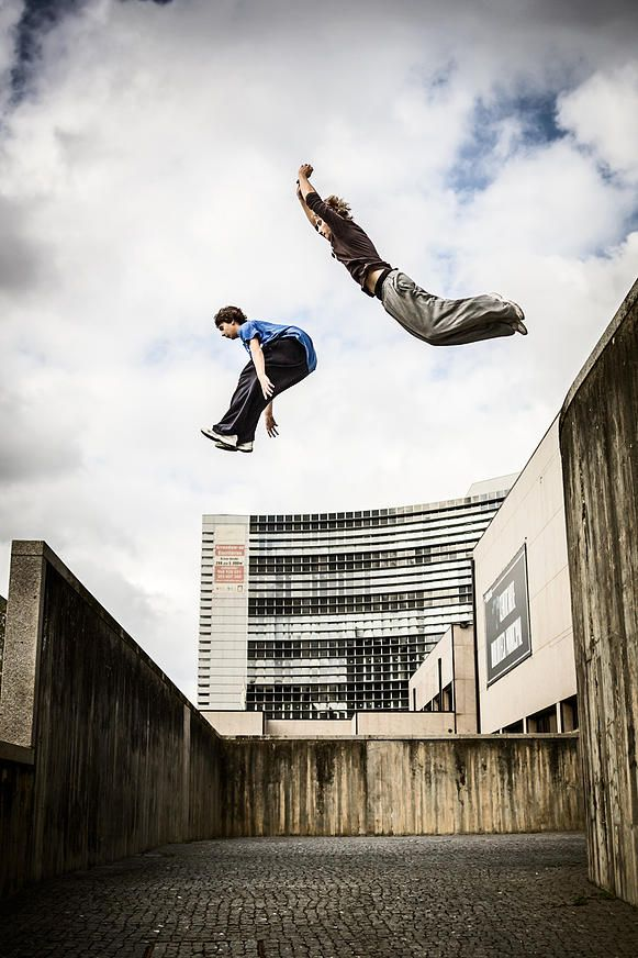 Parkour photography