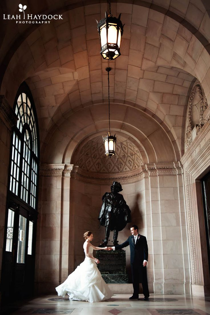 Boston Public Library Wedding, Couple Dancing #boston #wedding #library