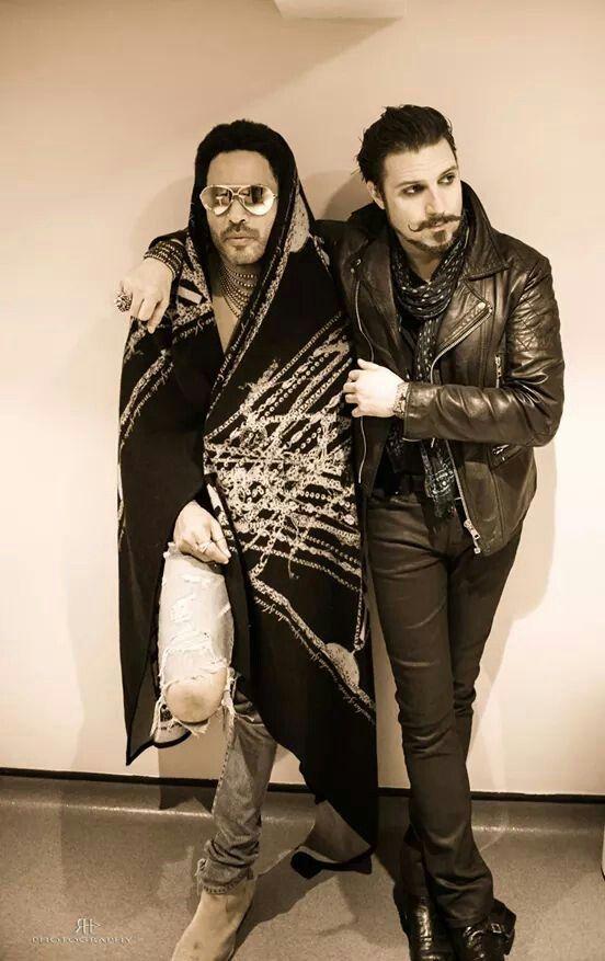 Scott & Lenny Kravitz