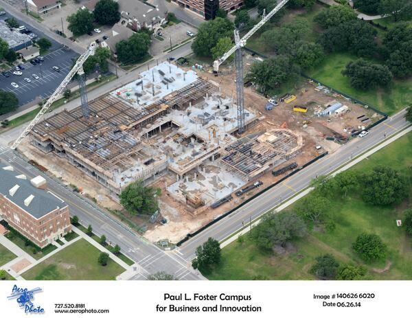 Aerial shot of construction on new #Baylor business school (June 2014): Beautiful Baylor, Baylor Business, Baylor Bears, Things Baylor, Baylor Campus