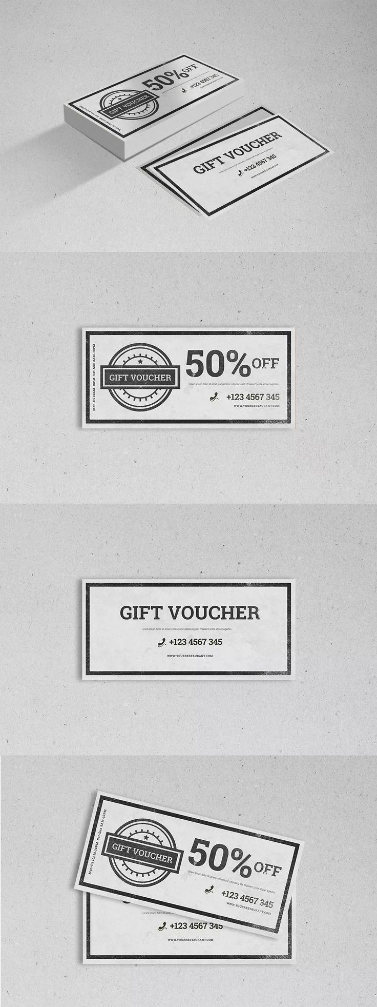 25 best Gift Voucher Design Templates images on Pinterest | Design ...