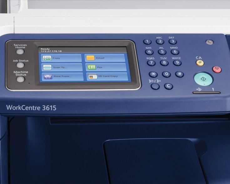 Xerox WorkCentre 3615/DN  Un concurent foarte serios al HP LaserJet Pro MFP M521dn (743.39 dolari pe Amazon.com), Xerox WorkCentre 3615/DN (852.89 dolari pe Amazon) oferă același tip de acreditare pentru muncă asiduă pentru un laser monocrom, și chiar mai mult. Ca și imprimanta HP, această unitate Xerox dăruiește toate beneficiile pe care o imprimantă multifuncțională (MFP), le poate oferi unui birou, dar cu un ciclu de printare mai mare