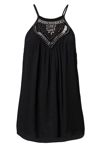 Embellished Cami | Women's Clothing by Witchery Online #witcherywishlist