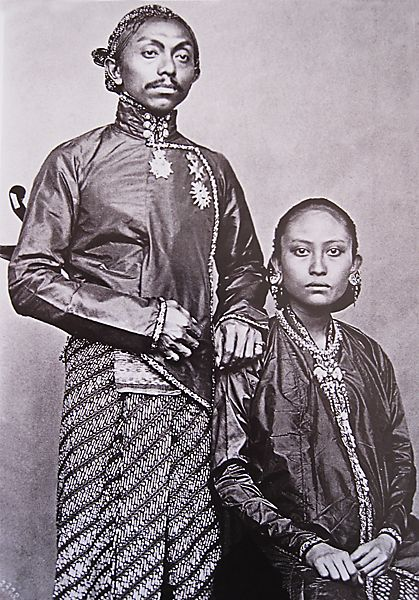 The susuhunan (ruler) of Surakarta (Central Java, Indonesia): Pakubuwono IX (1861-1893).